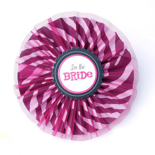 bachelorette pin im the bride