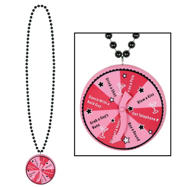Spinner on Necklace