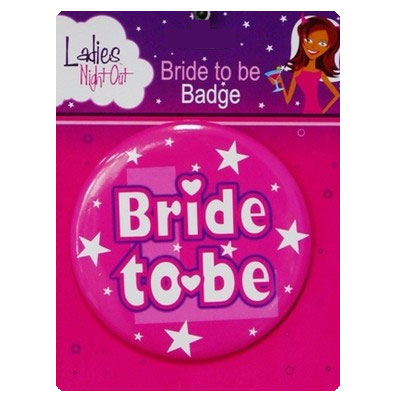 Bride to be Badge Jumbo