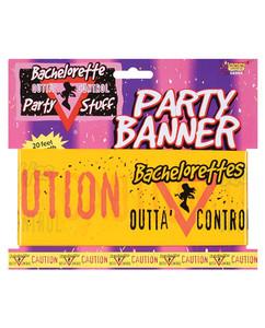 banner caution tape