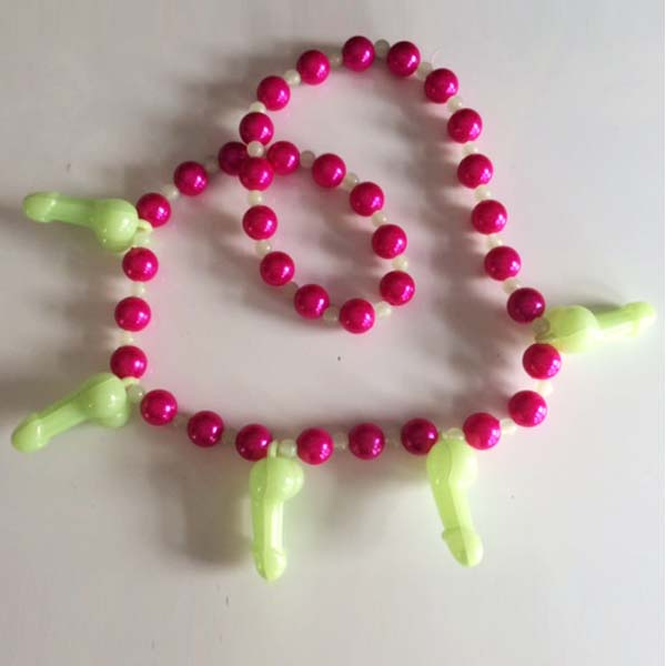 Pink & Pecker Necklace