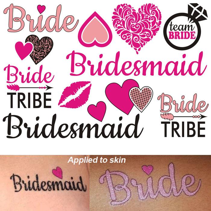 Bridal Party Tattoo